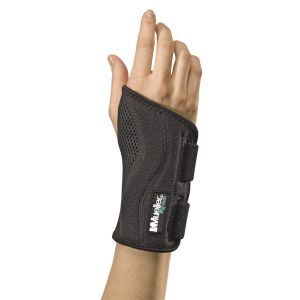 ミューラー Mueller FITTED WRIST BRACE JP PLUS 手首用 サポーター S~M 右用 55028