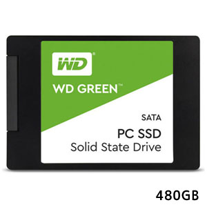 ウエスタンデジタル WESTERN DIGITAL SSD480GB WD Green WDS480G2G0A 3年保証