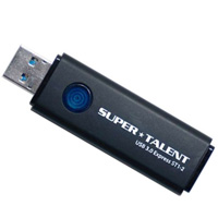 SuperTalent 【USB3.0メモリー 32GB】ST3U32ES12