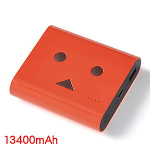 チーロ cheero cheero Power Plus DANBOARD version 13400mAh Urushi Red CHE-097-RE