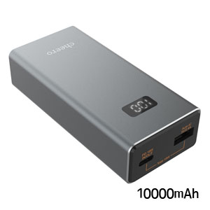 チーロ cheero cheero Power Plus 5 10000mAh with Power Delivery 18W CHE-101-GM