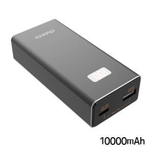 チーロ cheero cheero Power Plus 5 10000mAh with Power Delivery 18W CHE-101-BK