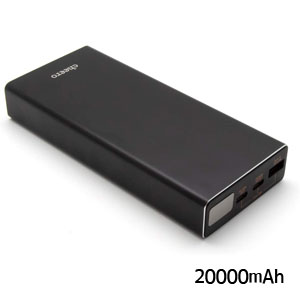 チーロ cheero モバイルバッテリー cheero Power Plus 5 Premium 20000mAh with Power Delivery 60W Black CHE-109-BK